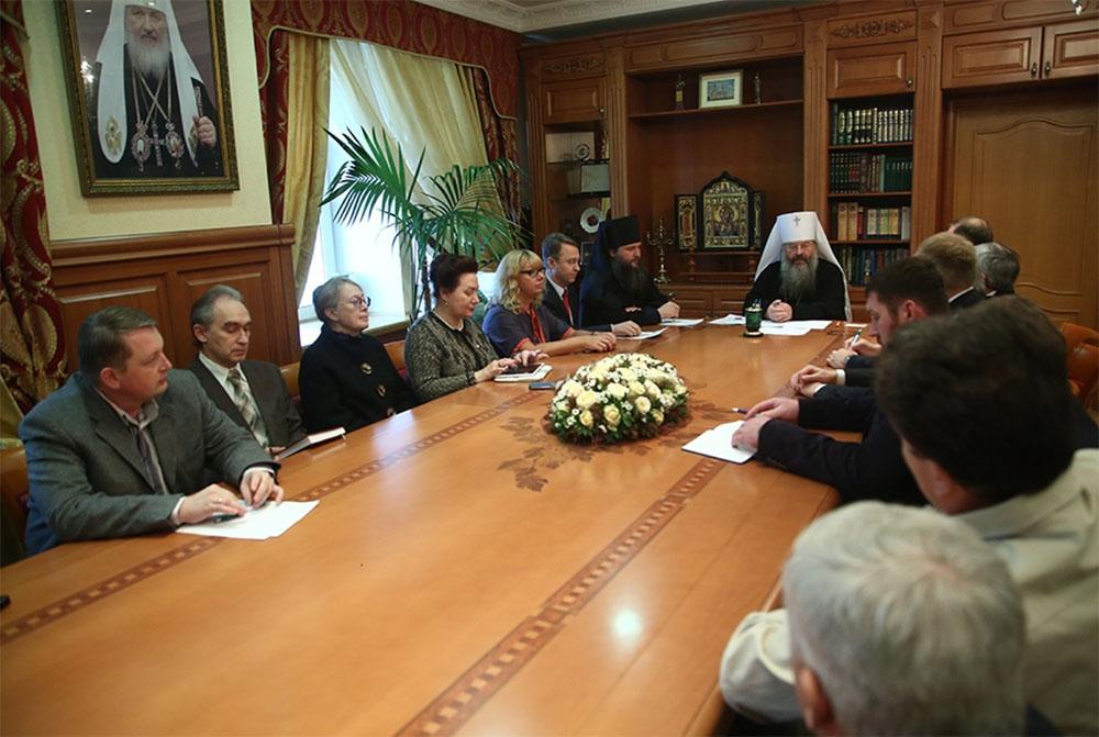 В Екатеринбурге состоялось заседание Уральского отделения Всемирного русского народного собора
