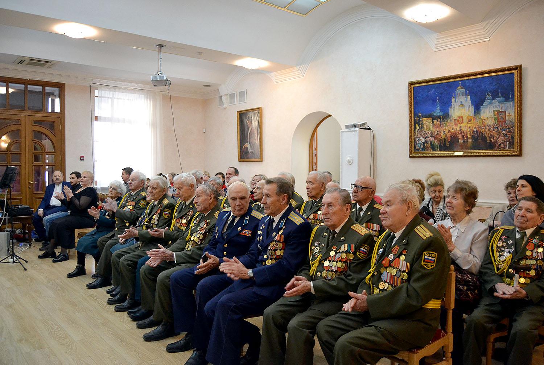 Рождественский прием для ветеранов Великой Отечественной Войны.