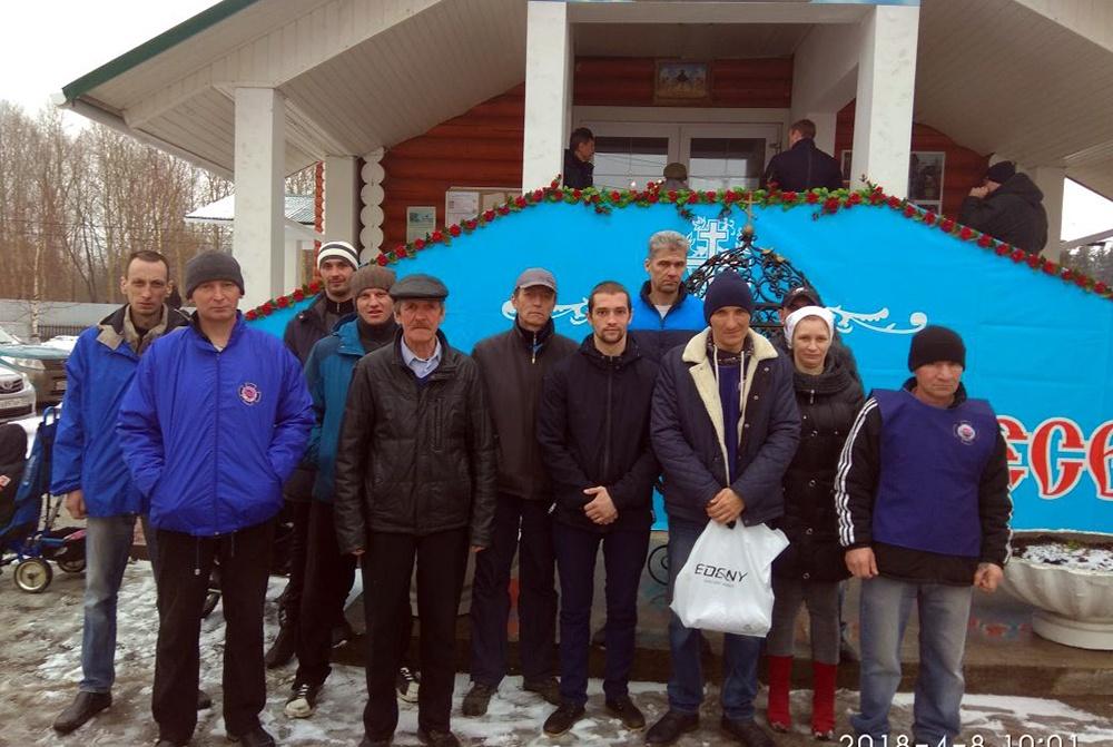 Встреча Светлой ПАСХИ 2018 в Пермском филиале Благотворительного Фонда «НИКА»