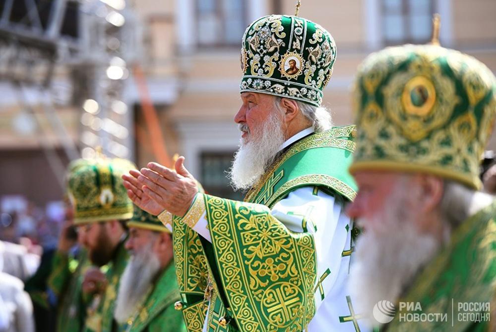 Патриарх Кирилл: Сегодня время надежды для всей страны и всего народа