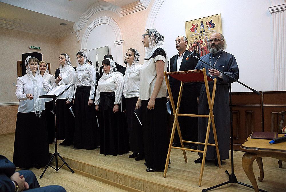 В праздник Покрова Пресвятой Богородицы состоится благотворительный концерт хора храма «Большой Златоуст» и поэта иерея Виктора Явича