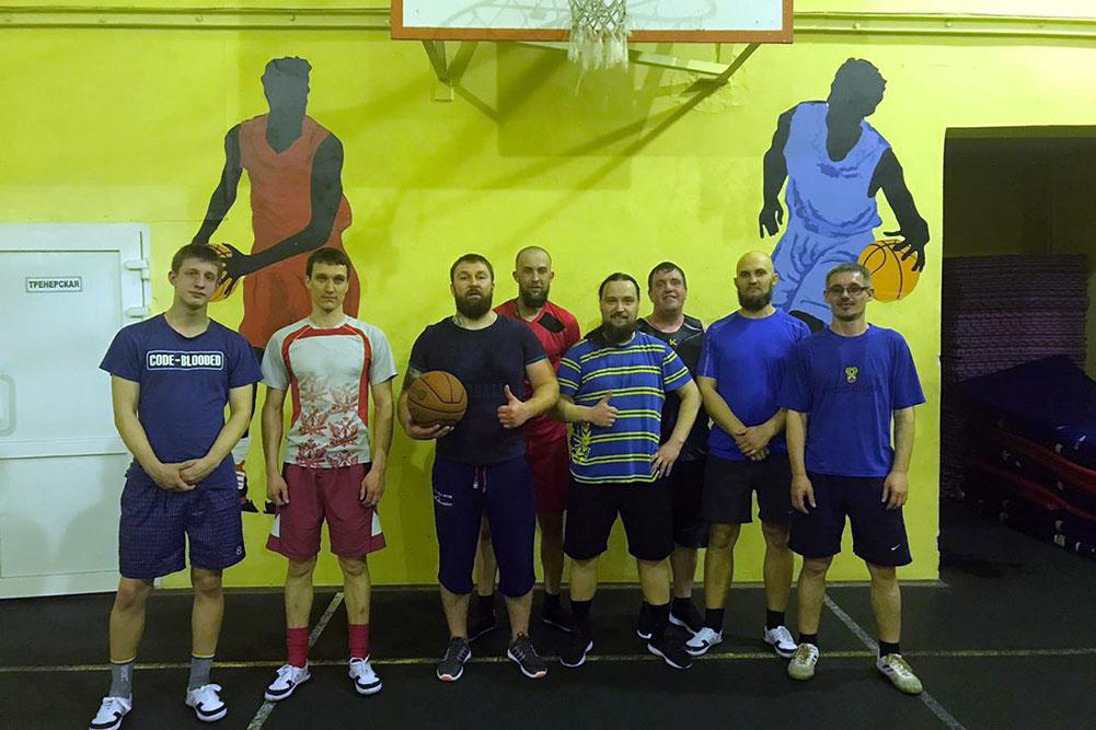 Баскетбольный матч в Екатеринбурге