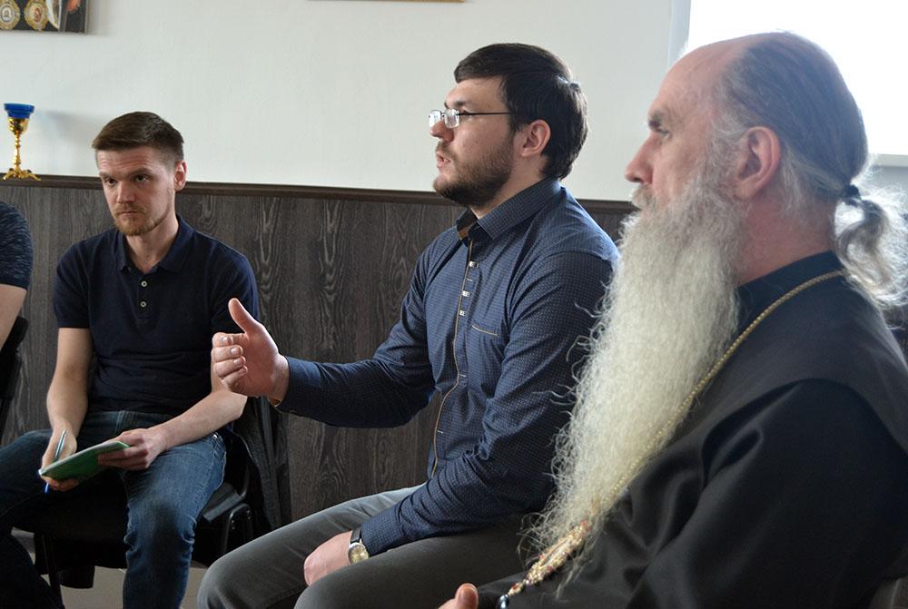 Епископ Каменский и Камышловский Мефодий провел семинар в  «Свято-Пантелеимоновом центр духовного попечения»